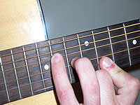 Guitar Chord Emaj7b5 Voicing 5