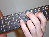 Guitar Chord Emaj9 Voicing 3