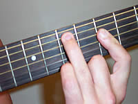Guitar Chord Emb6 Voicing 2