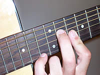 Guitar Chord F+ Voicing 5