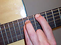 Guitar Chord F5 Voicing 5