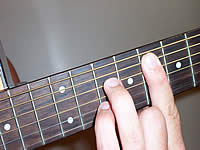 Guitar Chord F7 Voicing 4