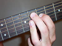 Guitar Chord F9 Voicing 4