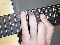 Guitar Chord F Voicing 4