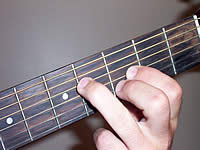 Guitar Chord F#+7 Voicing 1
