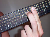 Guitar Chord F#+7 Voicing 3