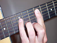 Guitar Chord F#+7 Voicing 4