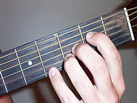 Guitar Chord F#+9 Voicing 1