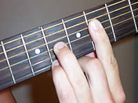 Guitar Chord F#6 Voicing 2