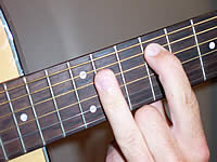 Guitar Chord F#6 Voicing 4