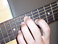 Guitar Chord F#6 Voicing 5