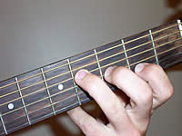 Guitar Chord F#7 Voicing 1