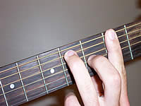 Guitar Chord F#7 Voicing 2