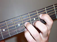 Guitar Chord F#7 Voicing 3