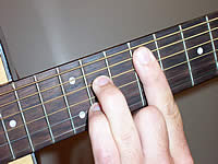Guitar Chord F#7 Voicing 4