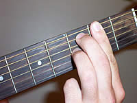 Guitar Chord F#7#11 Voicing 1