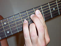 Guitar Chord F#7#11 Voicing 3