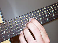 Guitar Chord F#7#11 Voicing 5