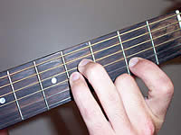 Guitar Chord F#7sus4 Voicing 1