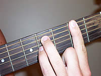 Guitar Chord F#7sus4 Voicing 2