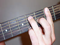 Guitar Chord F#9 Voicing 1