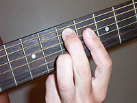 Guitar Chord F#9 Voicing 3