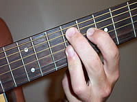 Guitar Chord F#9 Voicing 4