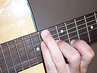Guitar Chord F#9 Voicing 5