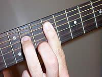 Guitar Chord F m7 Voicing 3  F Minor 7 Chord