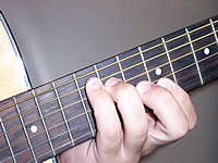 Guitar Chord F#m9(maj7) Voicing 4