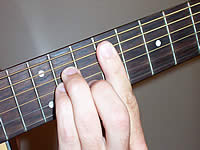 Guitar Chord F#m Voicing 3