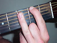 Guitar Chord F#maj7b5 Voicing 3