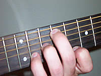 Guitar Chord F#maj7b5 Voicing 5