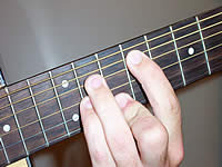 Guitar Chord F#mb6 Voicing 4