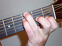 Guitar Chord G13sus4 Voicing 1