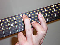 Guitar Chord G13sus4 Voicing 3