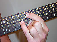 Guitar Chord G13sus4 Voicing 4