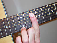 Guitar Chord G13sus4 Voicing 5