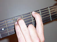 Guitar Chord G5 Voicing 2