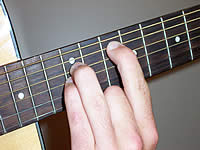 Guitar Chord G5 Voicing 4