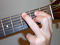 Guitar Chord G6/9 Voicing 1