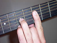 Guitar Chord G6 Voicing 2