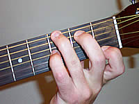 Guitar Chord G7#9 Voicing 1