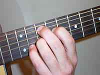 Guitar Chord G7#9 Voicing 4