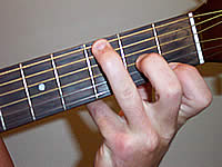 Guitar Chord G9 Voicing 1