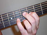 Guitar Chord G9 Voicing 3