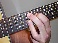 Guitar Chord G9 Voicing 4