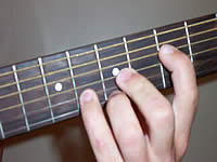 Guitar Chord G Voicing 3