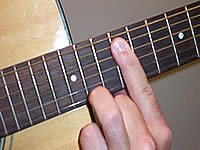 Guitar Chord Gmaj9 Voicing 5