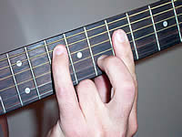 Guitar Chord Gsus2 Voicing 3